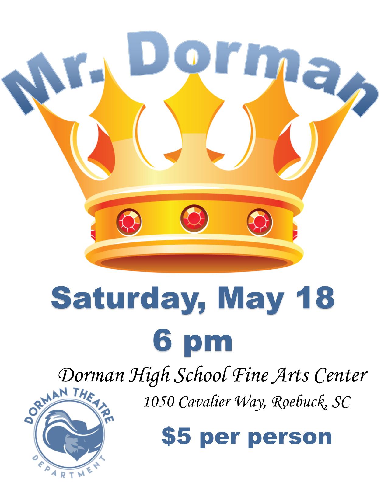 Mr dorman poster