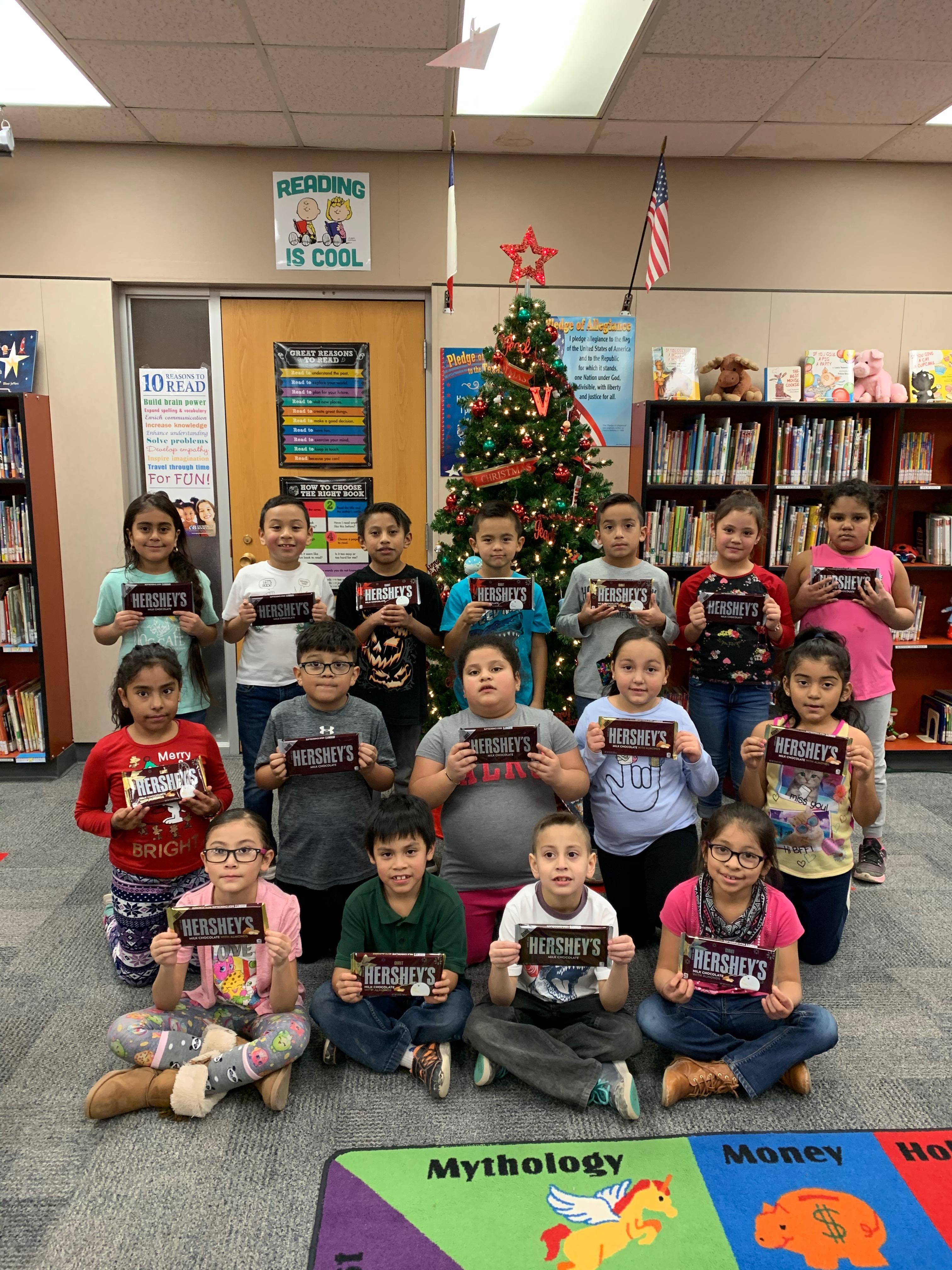 Mrs. Cardenas' Class. Most Words read Dec. 2 - 18, 2019.