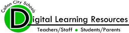Canon City Schools Digital Learning