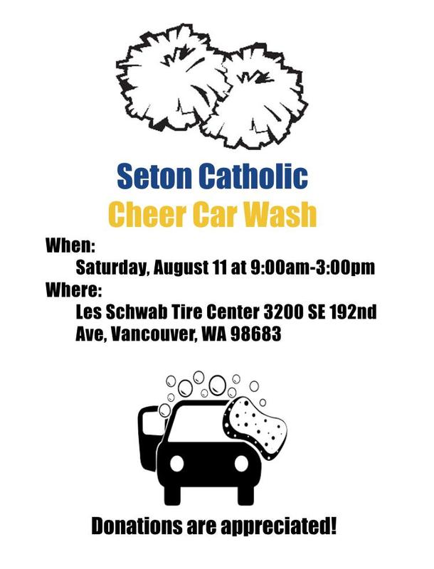 Come Support Cheer and get Your Car Washed! Featured Photo