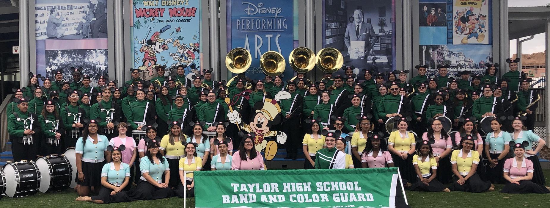 THS band at Disney