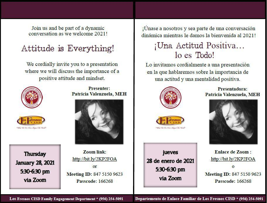 Attitude is everything! presentation