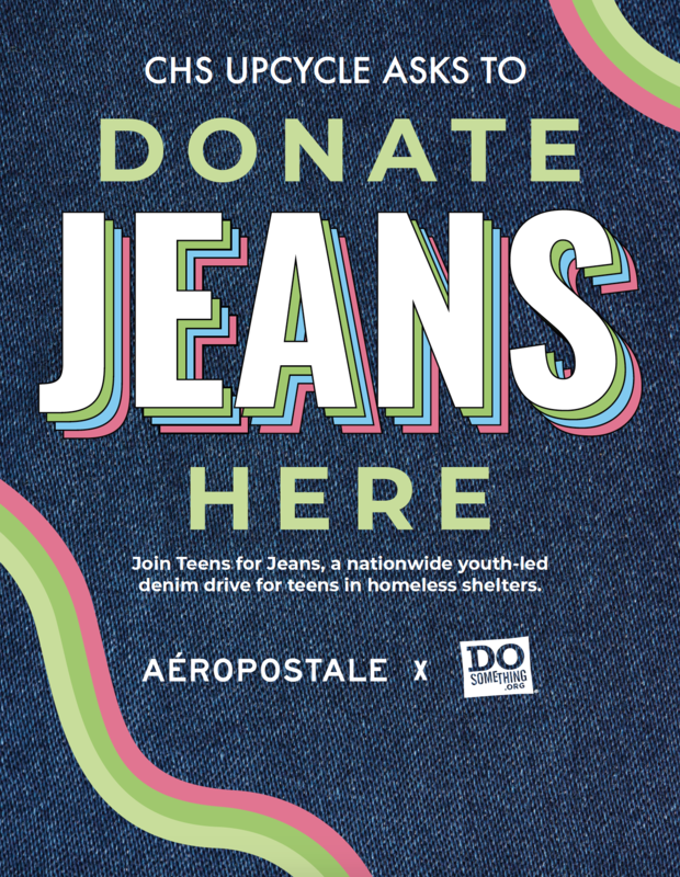 CHS Upcycle Club Hosts Teens for Jeans Drive Featured Photo