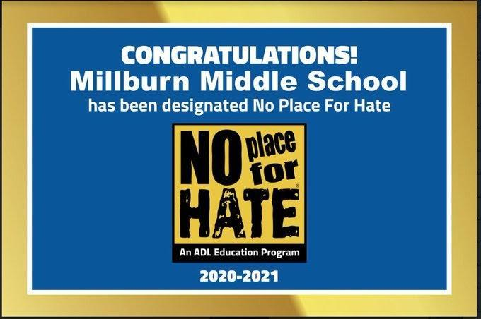 no place for hate award