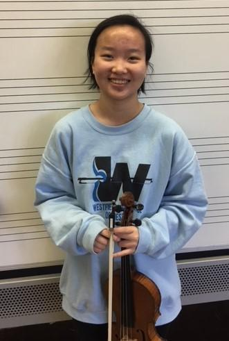Westfield High School sophomore Amy Xiao will perform with the highly selective Central Jersey Music Educators Association Region II orchestra this month.