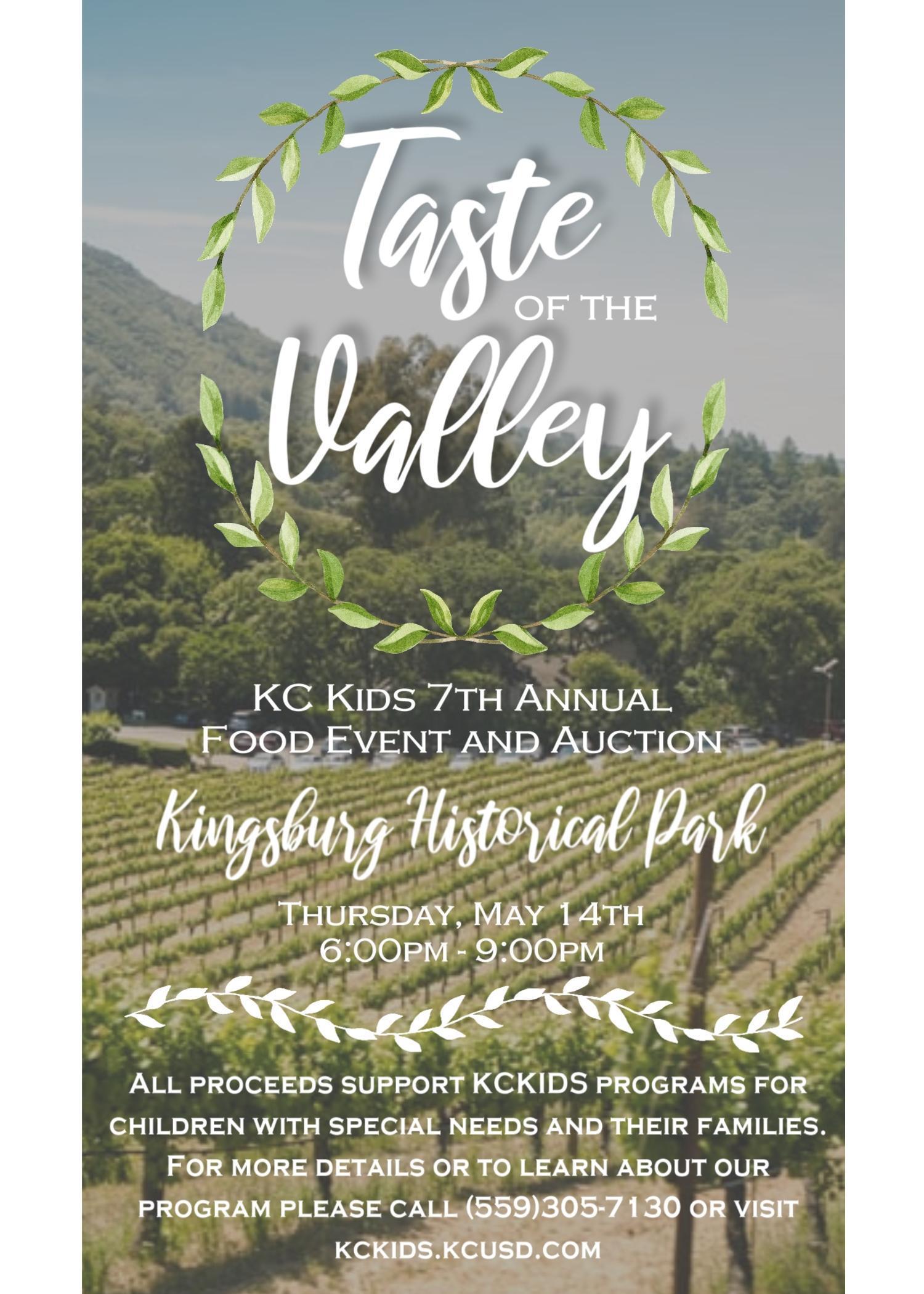 Taste of the Valley Flyer