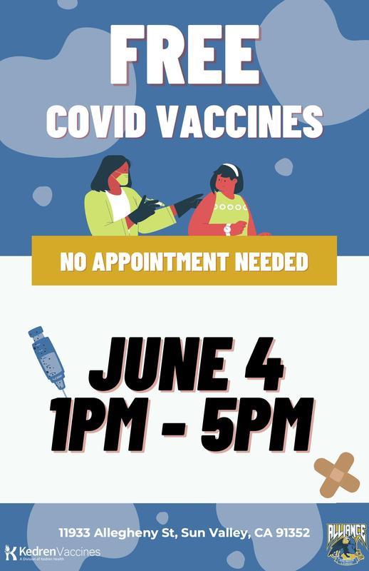 FreeFree Covid Vaccines! ¡Gratis! Vacunas contra Covid-19 Thumbnail Image
