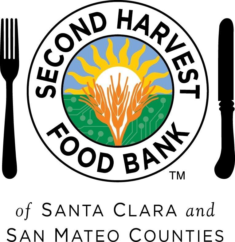 A graphic that says Second Harvest Food Bank, Silicon Valley.