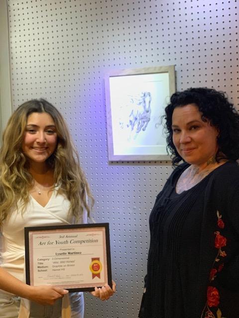 Hemet High Artwork Honored