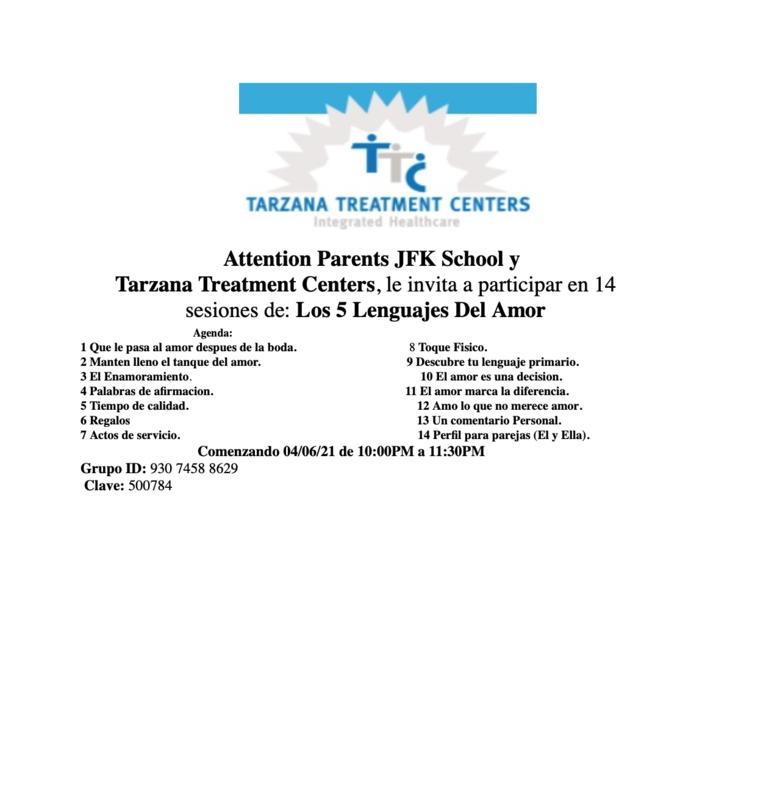 Tarzana Treatment Center Sessions for JFK Parents Featured Photo