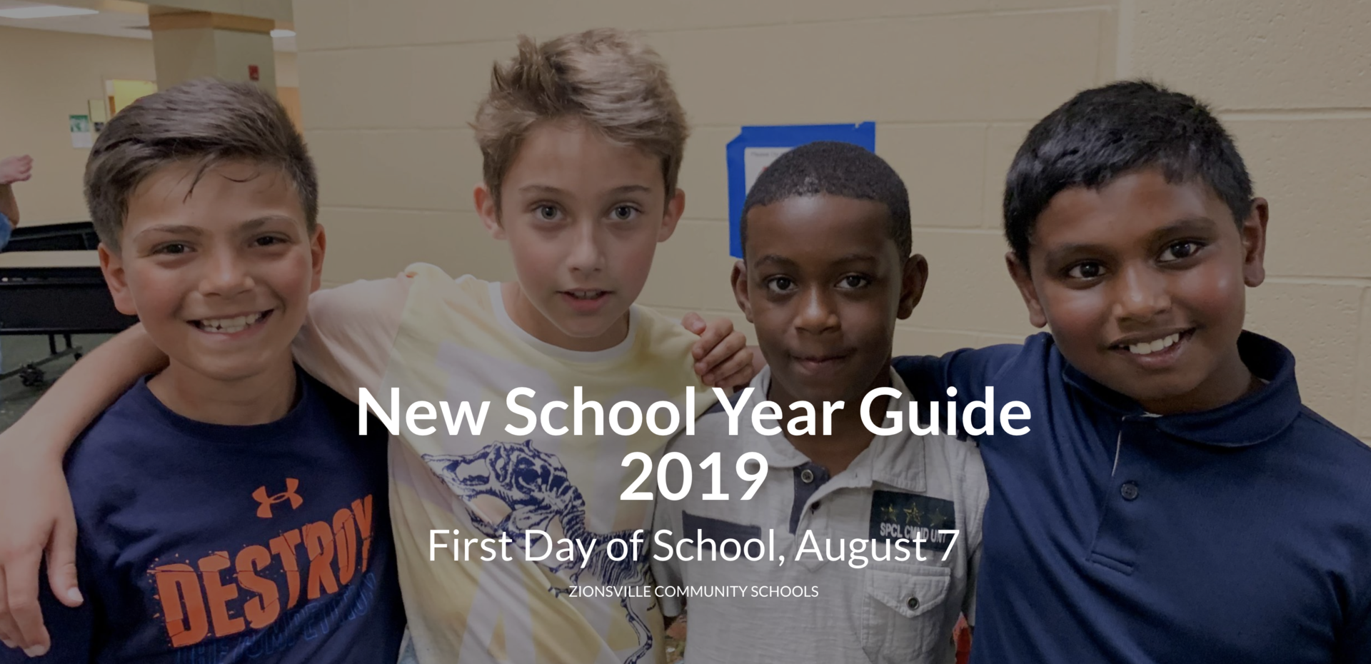 2019 New School Year Guide