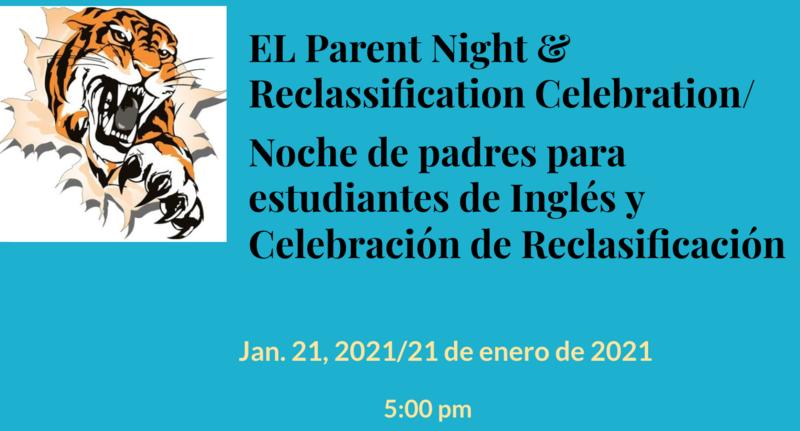 EL Parent Night & Celebrating Reclassification Featured Photo