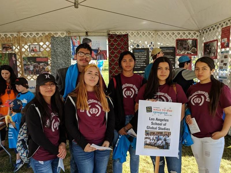 NHS participates in Walk to End Genocide Featured Photo