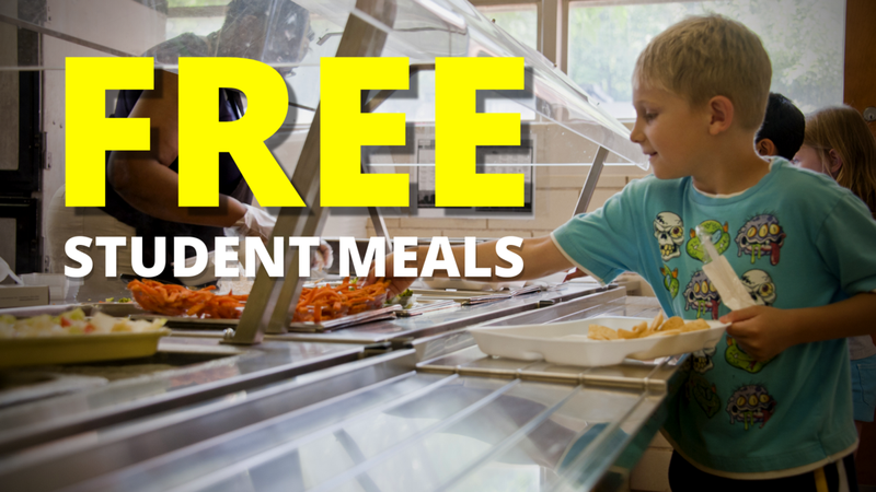 Free meals this year!
