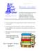 Book Swap Information Flyer