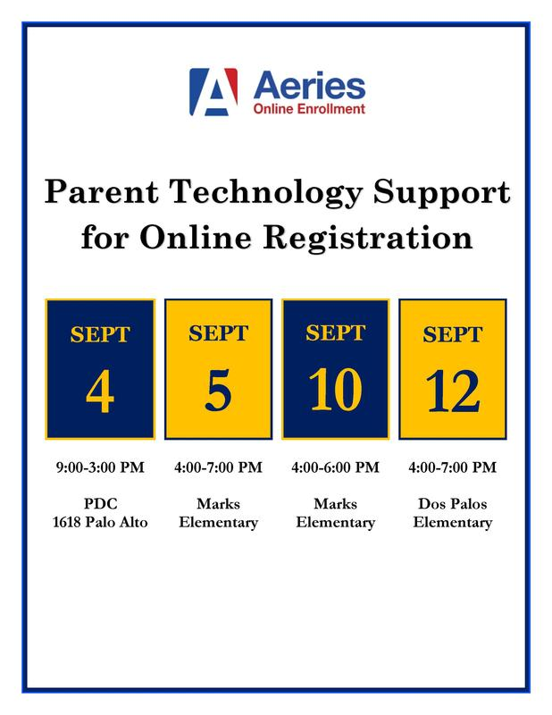 Parent Technology Support for Online Registration Featured Photo