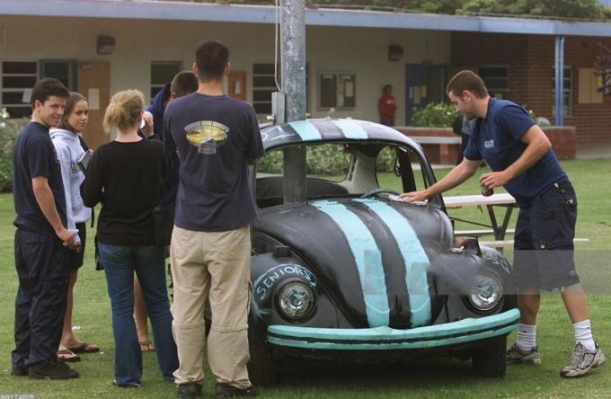 vw bug prank