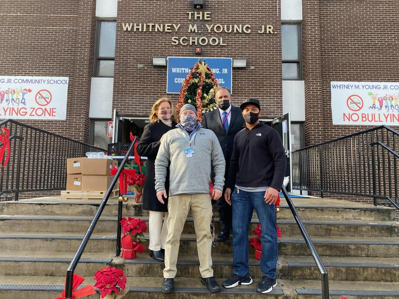 Whitney M. Young Jr. Community School Toy & Book Drive Featured Photo