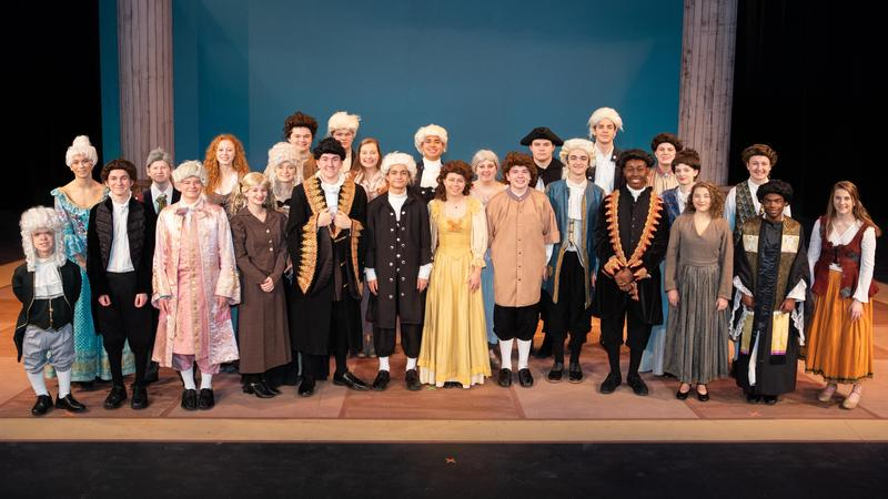 CBC Theater cast of Amadeus