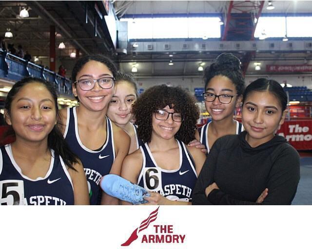 Maspeth High School Varsity Indoor Track Team Off To Running Start Featured Photo
