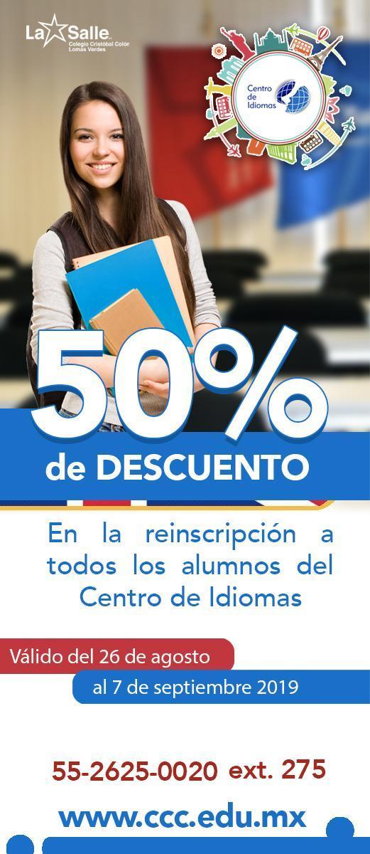Promociones Centro de idiomas