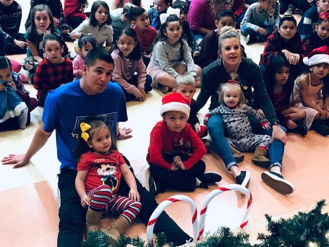 PTO's Breakfast with Santa event was a huge hit with the little ones! Thumbnail Image