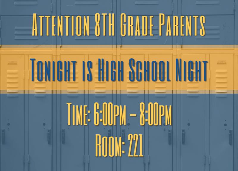 8th Grade: High School Night Featured Photo