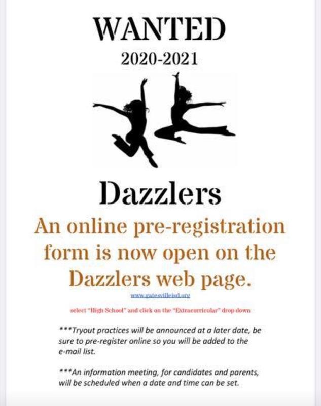GHS DAZZLER PRE-REGISTRATION Featured Photo