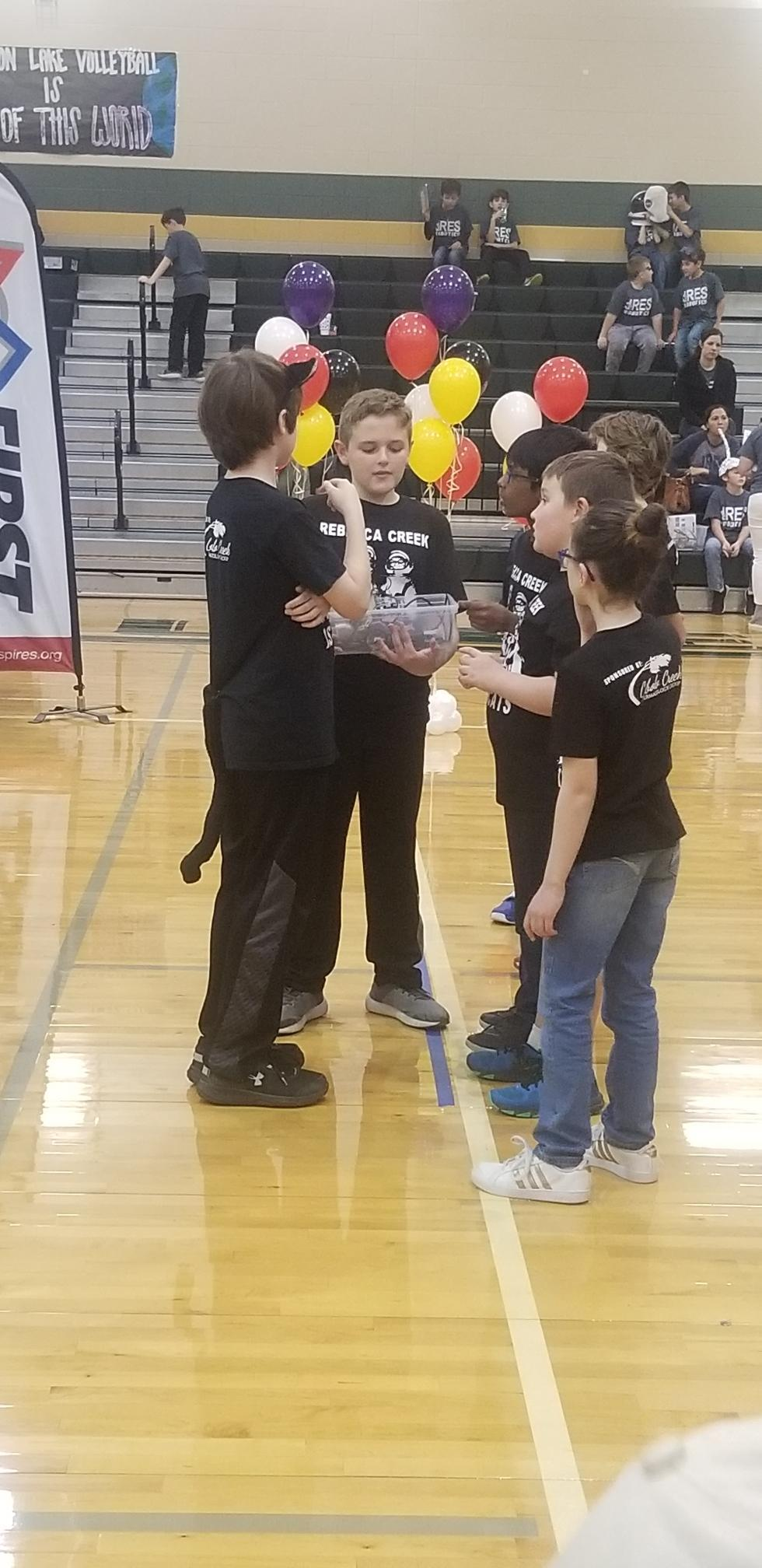 RCES FLL Tournament at CLHS