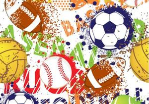 Image of sports balls.