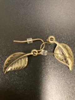 Found ear rings 9/13