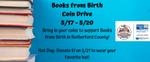 Books from Birth Coin Drive info