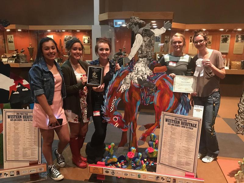 Calhan art students awarded at the Western Spirit Art Project Featured Photo