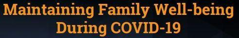 Foothill Family Webinar