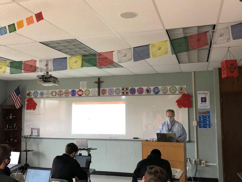 Xavier classroom 2020-2021