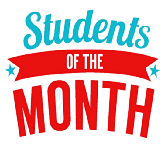 Student of the month text