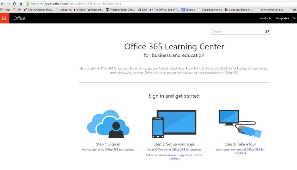 Office 365 – Tech Tools for Families – San Lorenzo Unified School