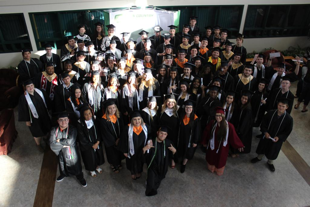 Group picture of graduating class
