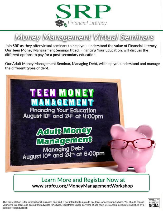 SRP Financial Literacy Management
