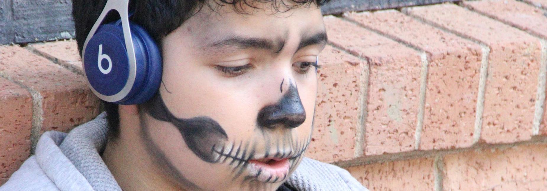 Student at Fall Festival
