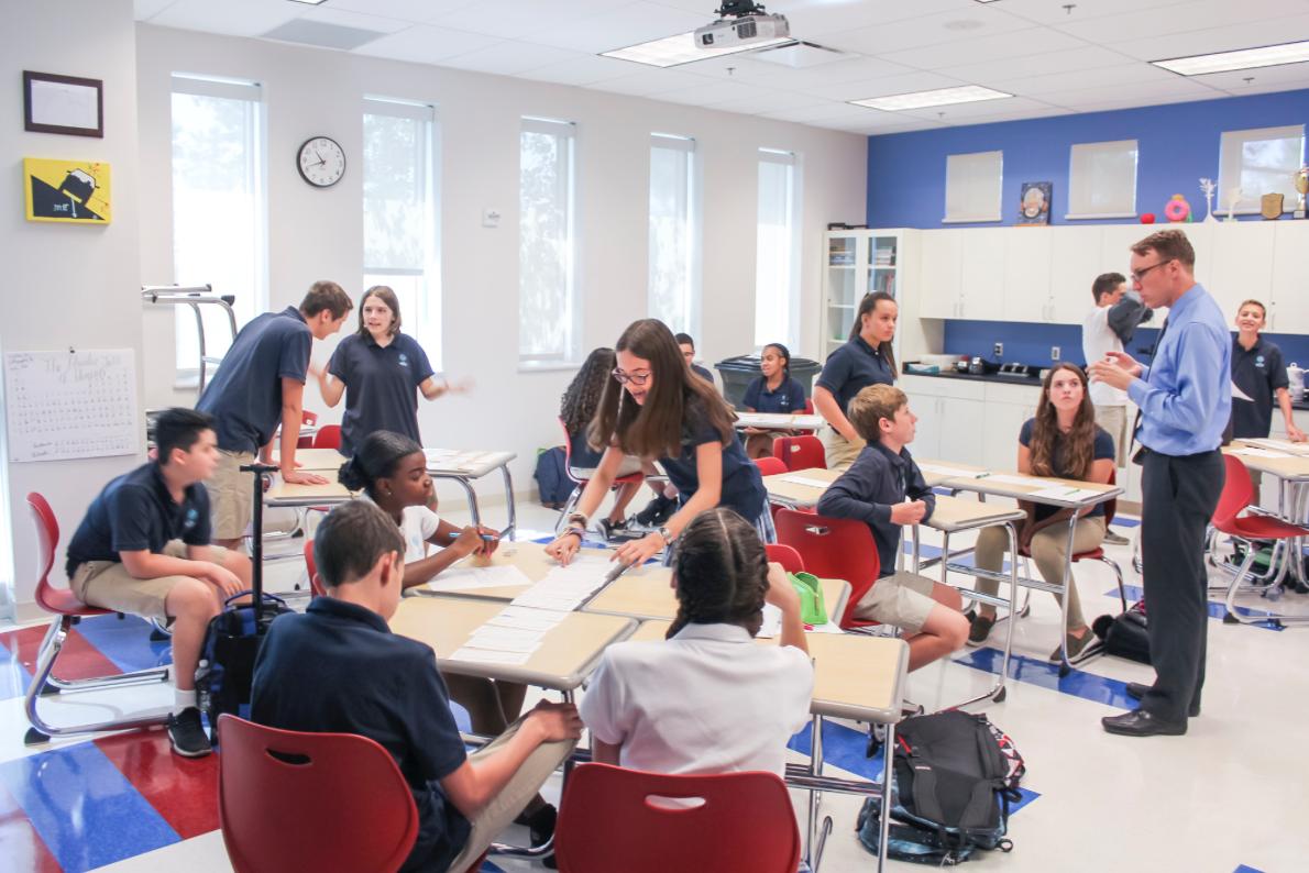 AEC classroom