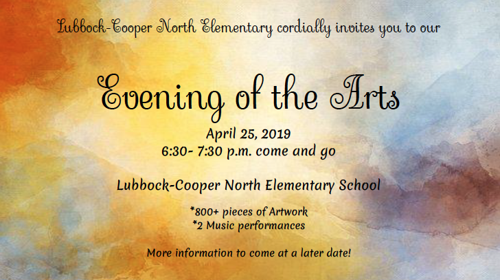 Evening of the Arts Thursday, April 25 Thumbnail Image