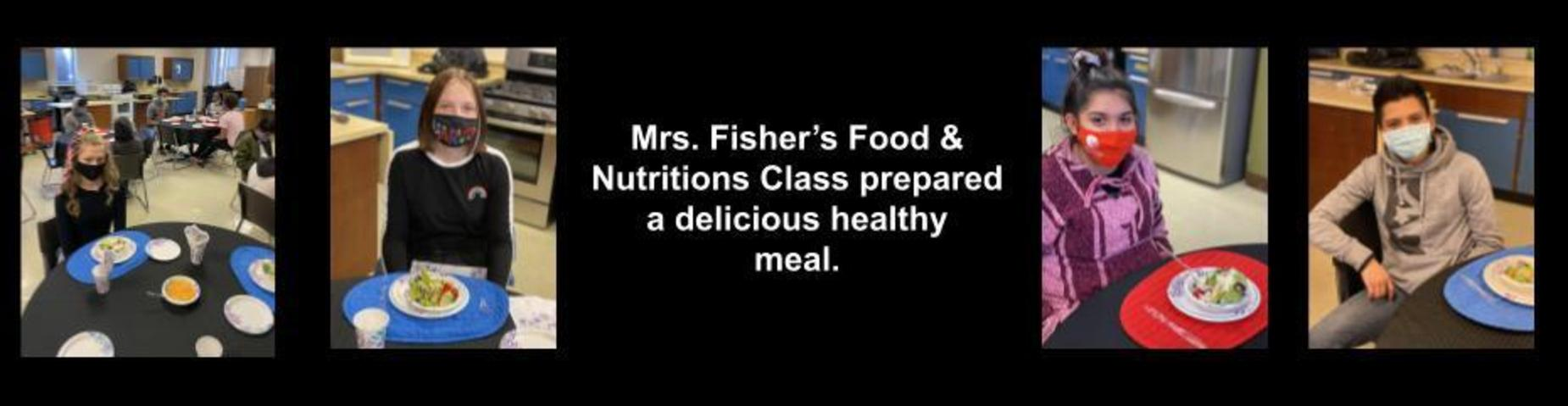 Mrs. Fishers Food & Nutrition Class