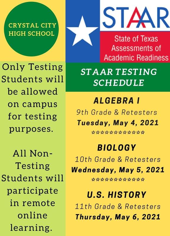 Updated EOC Testing Schedule - May Administration Featured Photo