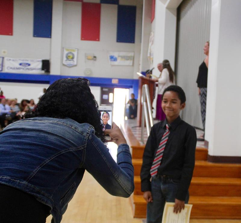 LVES Ceremony Promotes 69 6th-Graders Featured Photo