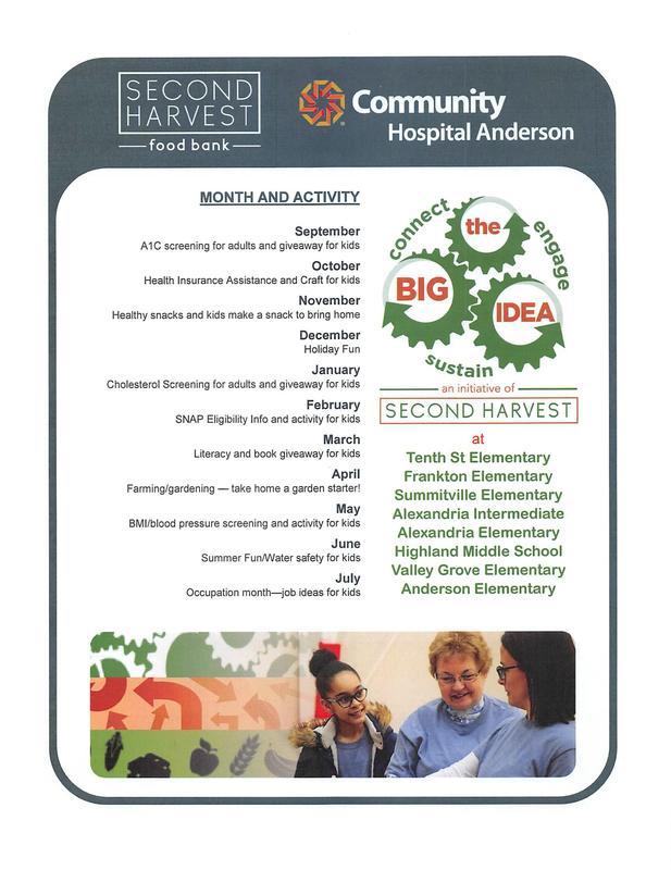 Flyer for Second Harvest