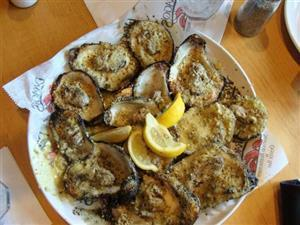 Famous Chargrilled Oysters