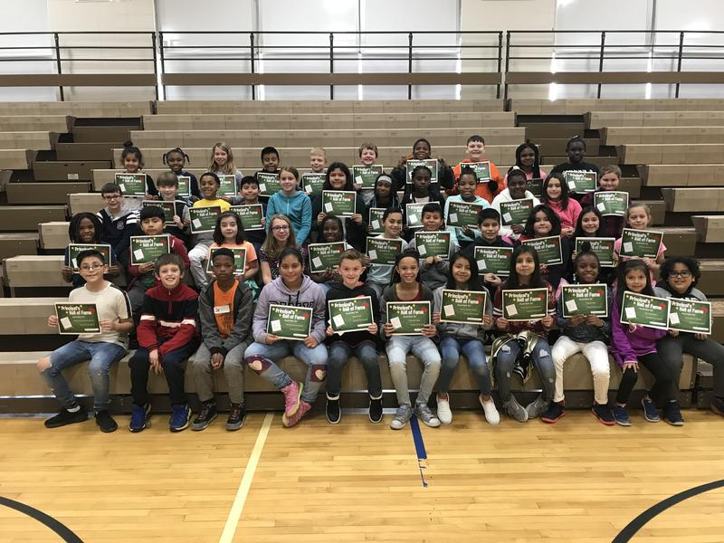 1st quarter Principal's Hall of Fame Featured Photo