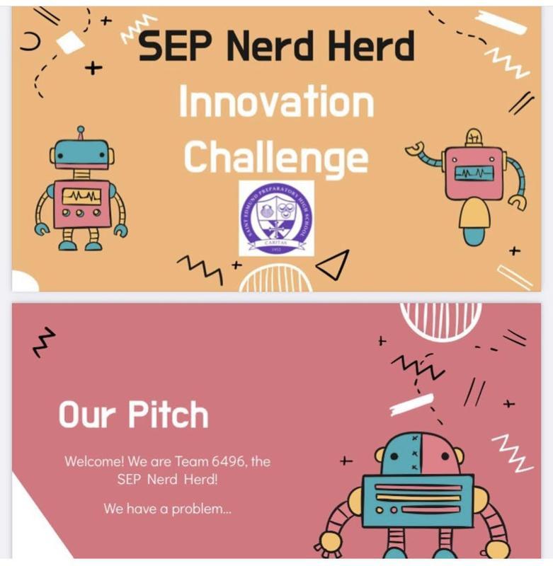 Robotics Team Named Semi-Finalist in FTC Innovation Challenge Featured Photo