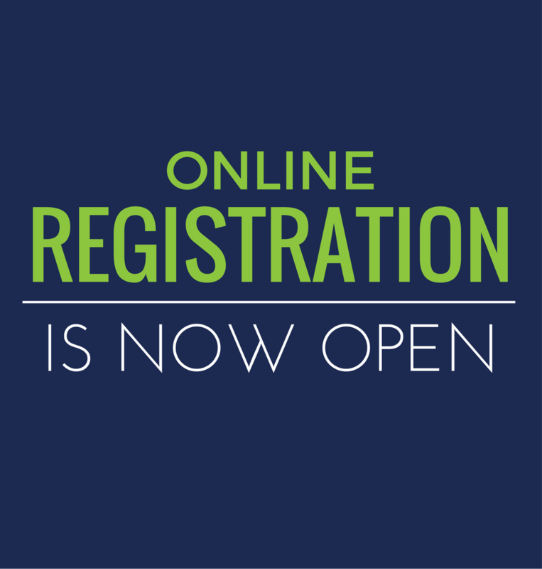 registration online now open